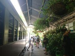 定刻通りに緑がいっぱいのキュランダ駅に到着。