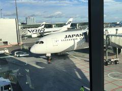 ヘルシンキヴァンター空港に到着。 今度は駐機場につきました。