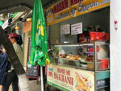 Madam Khanhというバインミー屋さんをみつけました。 色々な具材を挟んでもらって、店内で食べましたが写真撮り忘れ。 サンドイッチはボリュームがあり、美味しかった~。  バインミーとコーヒーで35000ドン(170円ほど) ベトナムの物価ってめちゃくちゃ安い!