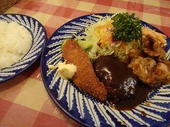ホテル近くの「町の洋食店」といった雰囲気のレストランで夕飯。 正直それほど空腹ではなかったものの、食べるにつれて食欲が増すような味付けで満足できました。