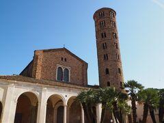 Basilica di Sant'Apollinare Nuovoにやってきました。