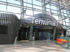 第一ターミナルに到着。