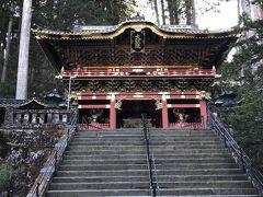 大猷院とは徳川三代将軍「家光公」の墓所で、世界遺産である境内には、沢山の国宝や重要文化財があるそうです。