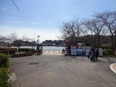 東名高速で東へ移動して藤枝市にやってきます。  ここは蓮華寺池公園です。  蓮華寺池は慶長年間(1596-1614)に造られたといわれます。  徳川家康がその昔、この池に流れ込む川で鳩打をしたという言い伝えがあるそうです。