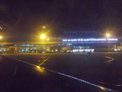 ダナン国際空港に無事到着。