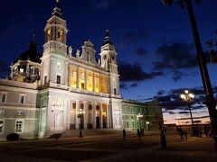 アルムデナ大聖堂。