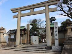 岸城神社は1362年創建とされる神社。 だんじり祭りの際に宮入する神社。