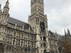 ミュンヘン新市庁舎。 見応えがある!