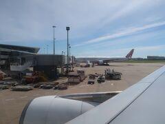 ブリスベンの空港、ほんとは、もっとゆっくり過ごしたかったなぁ。  もうすぐ搭乗開始です!