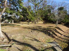 直ぐ横には丸保山古墳がありましたが、全長約87mと大きくなく堀も小さいので道路から帆立貝形墳の感じはわかりました。一見、家の近くにある公園の感じです。