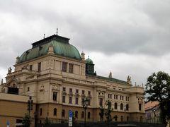 こちらは1901年に建てられたイェー・カー・ティル劇場(Divadlo J.K.Tyla)