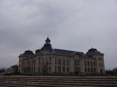 新潟市歴史博物館「みなとぴあ」・・・雨が降りそうだからどんより暗い