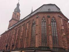 聖霊教会  マルクト広場のそばにある歴史ある古い教会
