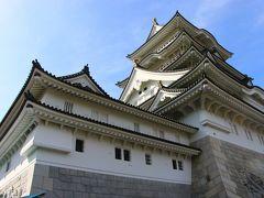 """これは城ではなく、天守風建築物の""""勝山城博物館""""とのこと。高さが57.8メートルと天守閣としては日本一とのことだが。どう見ても、昔この地にこういう城があったのかなって錯覚を覚えてしまう。それにしても立派で見応えあり。"""
