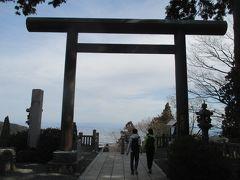 山頂から約1時間で、阿夫利神社下社まで戻ってきました。