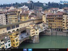 フィレンツエ。ヴェッキオ橋。