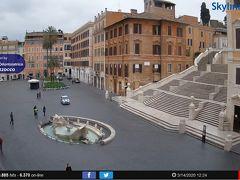 ローマ。スペイン広場。