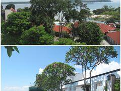 <チャンギ・ヴィレッジ>  初日の宿、Village Hotel Changi by Far East Hospitality 最終のシャトルバスが23時に変更されたため、タクシー利用。チャンギ空港T2から約11km・S$17。朝食は近所のChangi Village Hawker Centre で。ウビン島への船着場もすぐ近く。2日目の宿へは、ホーカー前から2番のバスでBugis方面へ70分ほどで移動。 (2017年当時S$1=約80円)