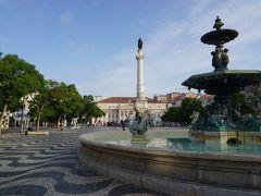 リスボンの中で私が一番好きなのがここロシオ広場。 今回も美しかったです。 でも時間がないから駆け足!