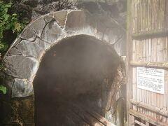 こちらが走り湯入り口。 お湯が沸く音が中で響いています。 横穴式源泉で日本三大古泉の一つなんだそうです。 発見は1300年も前のことなんだそう。 熱海はなかなか歴史が古いです。