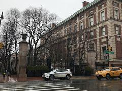 その後はコロンビア大学に留学中の知人を訪ね、キャンパスを案内してもらいました。