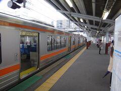 無事に飯田線を完乗して、中央本線の岡谷に着いた。  ここはもうJR東日本エリア。