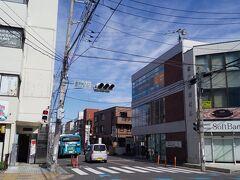 「宮原駅前交差点」10:23出発。前回ゴールしたところからスタートです。
