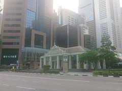 18:30 さすがに疲れすぎていたのでMRTで向かいます。 何だかんだシンガポール初MRTでした。 ラッフルズ・プレイス駅です。