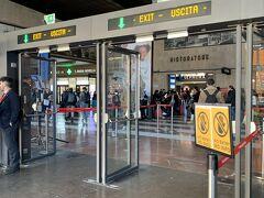 15時20分フィレンツェ着 ベネチアの後だからか、駅前の雰囲気はちょっと怖い感じがしました。