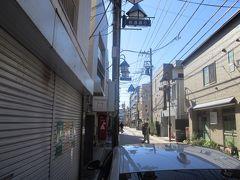 松葉通りから久我山駅方向へ