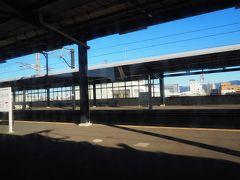 酒のんで旨い飯を食ってたらいつの間にやら山を抜けてしまいました。西都城駅。