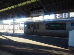 南宮崎駅に到着。日南線はこちらから、懐かしい。接続が案外微妙だったりしたんだよなあ……。