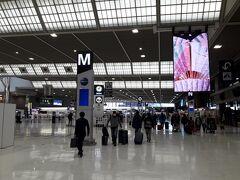 オーストラリアGP観戦のため、成田空港からメルボルンに出発。  新型肺炎の影響で閑散とした空港。 卒業旅行シーズンでもあるのに。