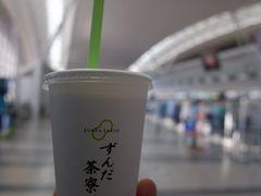 2年半ぶりくらいの仙台空港。仙台空港もガラガラでした。一応売店で仙台土産ずんだ餅を購入。まずは仙台空港線で名取駅に向かいます。