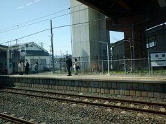途中の亘理駅、前回震災直後に来たときはここまでしか復旧していなくて、ここから代行バスに乗り換えたなーと思いだす。