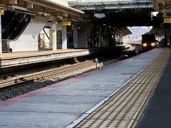 新快速姫路行きに乗車する。