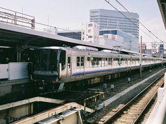 関空・紀州路快速の出発駅でもある京橋駅。