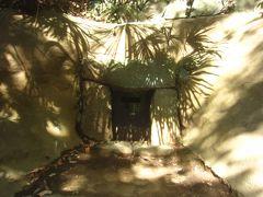高台にあったのが第3号横穴古墳 古墳時代から奈良時代にかけての有力能門のお墓とみられていて、完全な形で発見されたそう 発掘で人骨や耳環、土器等が出土した