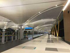 イスタンブール新空港です。 とにかく広い!