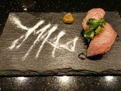 那覇空港で食べたお寿司。美味しかった。  国内だし、また八重山旅行したいです。絶対行きます。