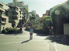 北カリフォルニアから、サン・フランシスコに戻ってきました。 例によって、ロンバードストリート。