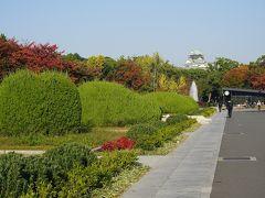 ●大阪城公園  11月も中旬。 大阪も段々秋めいてきました。