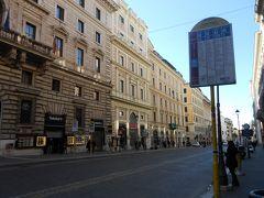 イタリア最終日、今日もいい天気~! 今回のイタリアは実質9日間ですが、なんとず~っと晴れ!ラッキー!