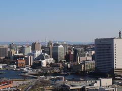 画像中央の建物(後方)がハイアットリージェンシー横浜。 2020年5月23日開業予定。