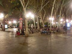 夜のヌエバ広場。