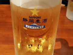 水がおいしいからか、 静岡麦酒おいしい!