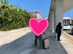 12:05山口に先に帰る友人ひとりを石垣空港に送ります。沖縄トランジットです。 また、行こうね!