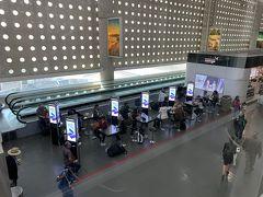 ご飯の恨みはありますが笑、 約12時間のフライトを経て、メキシコシティ国際空港に到着!  メキシコシティ国際空港の中でアエロメヒコは全て同じターミナル2の中で完結しているので移動も便利です。