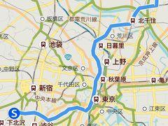 千代田線ルートこんな感じで 渋谷区代々木上原から足立区北綾瀬まで全長24km 都心ど真ん中に横断してから足立区へ北上する幹線かな 直通に乗ると47分 1969年開通の比較的新しい路線