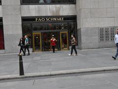 のぞいてみたかったのが、こちら なつかしい、FAO Schwarzなんです。 場所は移ってしまいましたが、 (おもちゃの)兵隊さんが、なんとも言えず懐かしい!
